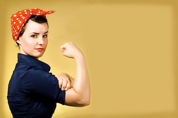 güçlü kadın